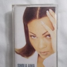Casetes antiguos: SHOLA AMA - MUCH LOVE. Lote 161732126