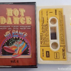 Casetes antiguos: HOT DANCE VOL 4.WEST END GIRLS.TAKE ME NOW.DANCING IN PAIS.LOVE MISSILE.EMI SPAIN.1986.. Lote 161771526