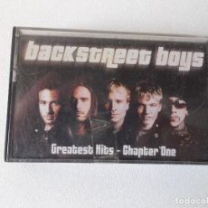 Casetes antiguos: BACKSTREET GREATEST HITS. Lote 161807146