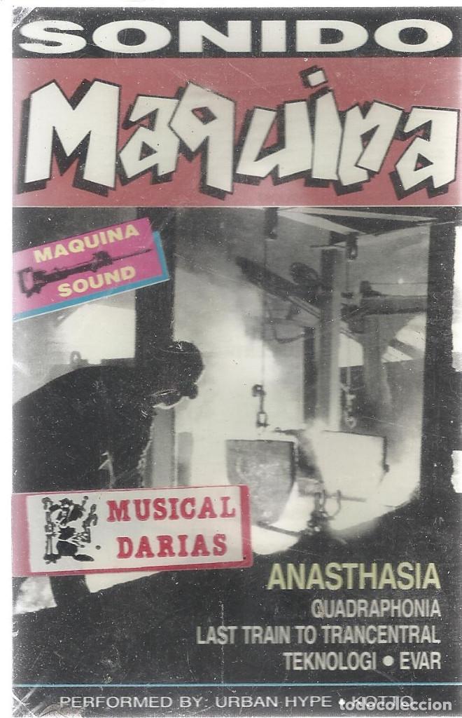 CASSETTE SONIDO MAQUINA.SONO TREX-SCS 181.1991.SELLADA. (Música - Casetes)