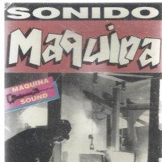 Casetes antiguos: CASSETTE SONIDO MAQUINA.SONO TREX-SCS 181.1991.SELLADA.. Lote 162363426