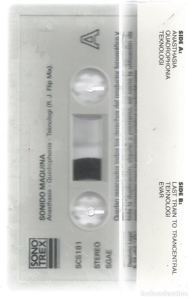 Casetes antiguos: Cassette Sonido Maquina.Sono Trex-SCS 181.1991.Sellada. - Foto 2 - 162363426