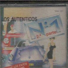 Casetes antiguos: CASSETTE.LOS AUTÉNTICOS Nº 1-2ª PARTE.YEL-287, KOKA MUSIC-KOKA-08.1988.SELLADA.. Lote 162368330