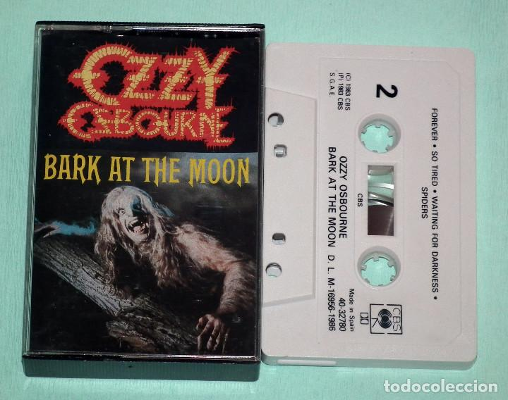 CINTA CASSETTE - OZZY OSBOURNE - BARK AT THE MOON (Música - Casetes)
