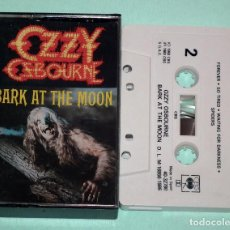 Casetes antiguos: CINTA CASSETTE - OZZY OSBOURNE - BARK AT THE MOON. Lote 162442754