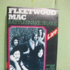Alte Kassetten - FLEETWOOD MAC Rattlesnake Shake LIVE CASETE CASSETTE 1986 - 162518954