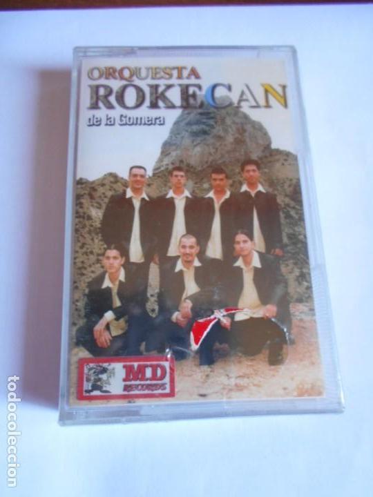 CASETE PRECINTADA DE LA ORQUESTA CANARIA ROKECAN DE LA GOMERA - CONOZCO UNA NEGRA + OTRAS (Música - Casetes)
