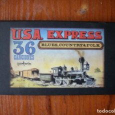 Casetes antiguos: USA EXPRESS TRES CASSETES COUNTRY FOLK Y BLUES. Lote 162785806