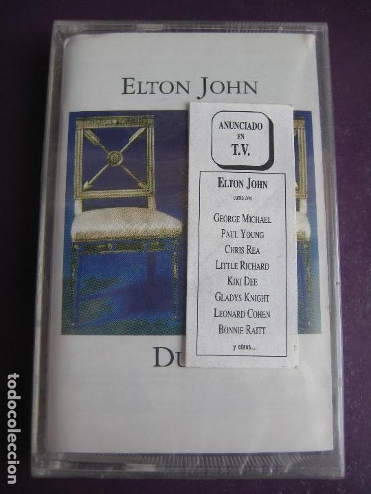Elton John CASETE PRECINTADA 1993 - Duets - RUPAUL - GEORGE MICHAEL -  LEONARD COHEN ETC