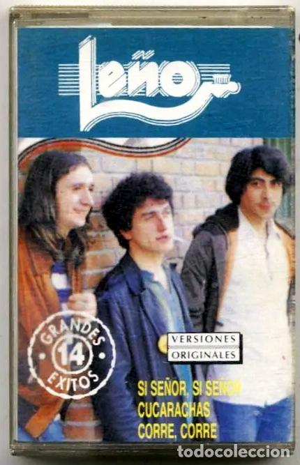 CASET DE - LEÑO - EDITADO POR ZAFIRO ( CHAPA DISCO ) 14 EXITOS DE LEÑO - EN AÑO 1991 (Música - Casetes)