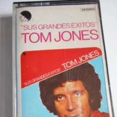 Casetes antiguos: CASETE 1977 - TOM JONES - SUS GRANDES ÉXITOS. Lote 163570354