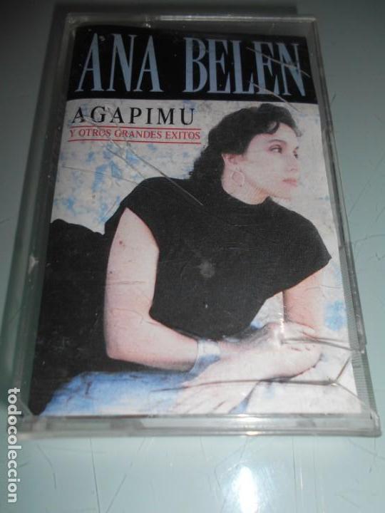 CASETE 1992 - ANA BELÉN - AGAPIMO + ESPAÑA CAMISA BLANCA DE MI ESPERANZA + OTRAS (Música - Casetes)