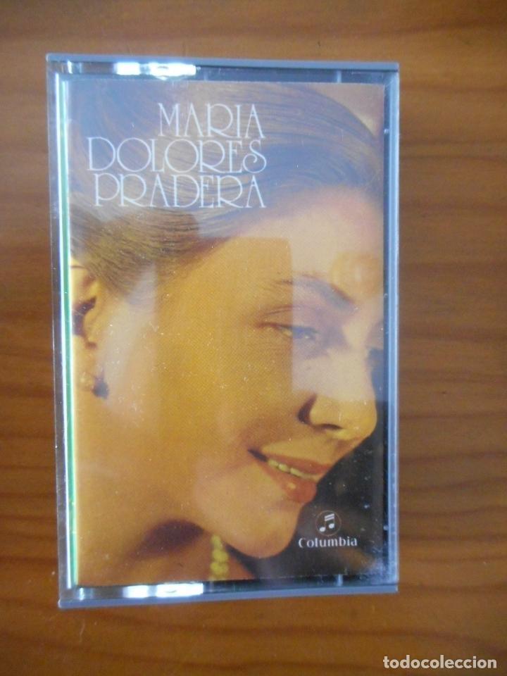 MARIA DOLORES PRADERA. SERIE VARIEDADES. SELLO COLUMBIA. 1972. CASETE -CASSETTE-. BUEN ESTADO (Música - Casetes)