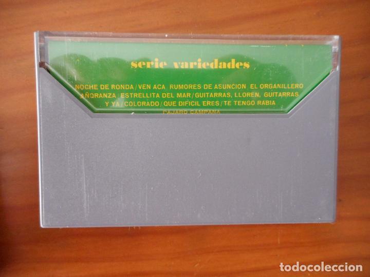 Casetes antiguos: Maria Dolores Pradera. Serie Variedades. Sello Columbia. 1972. Casete -Cassette-. Buen estado - Foto 2 - 163601958
