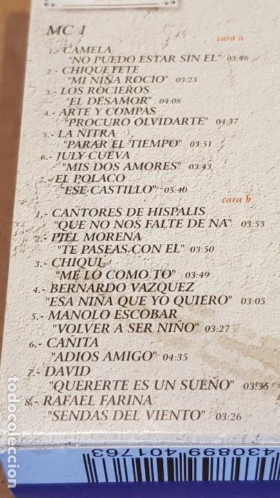 Casetes antiguos: JAROTEANDO / RECOPILACIÓN REALIZADA POR JUSTO MOLINERO / 3 MC-BOX / TEMPO MUSIC / PRECINTADO. - Foto 4 - 163955610