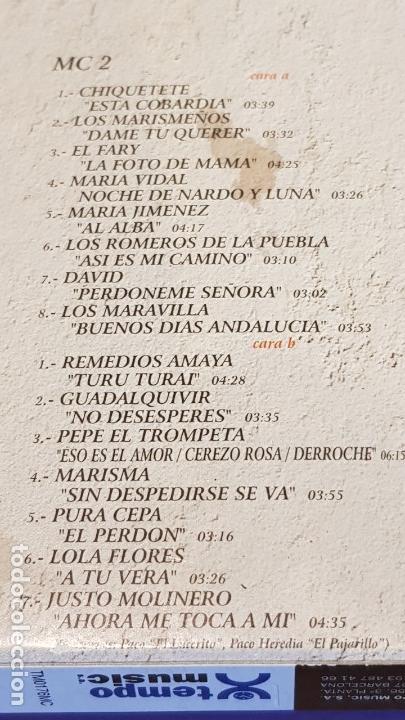 Casetes antiguos: JAROTEANDO / RECOPILACIÓN REALIZADA POR JUSTO MOLINERO / 3 MC-BOX / TEMPO MUSIC / PRECINTADO. - Foto 5 - 163955610