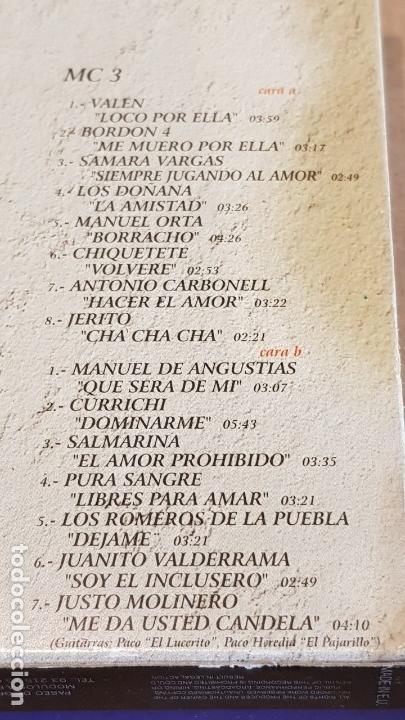 Casetes antiguos: JAROTEANDO / RECOPILACIÓN REALIZADA POR JUSTO MOLINERO / 3 MC-BOX / TEMPO MUSIC / PRECINTADO. - Foto 6 - 163955610