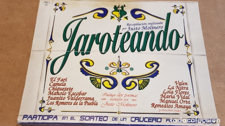 Casetes antiguos: JAROTEANDO / RECOPILACIÓN REALIZADA POR JUSTO MOLINERO / 3 MC-BOX / TEMPO MUSIC / PRECINTADO. - Foto 3 - 163955610