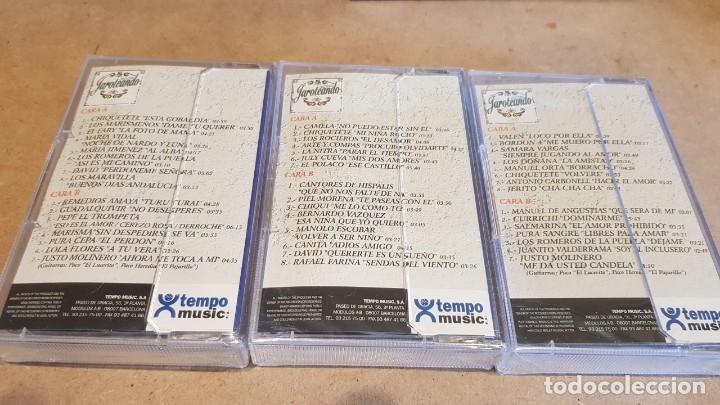 Casetes antiguos: JAROTEANDO / RECOPILACIÓN REALIZADA POR JUSTO MOLINERO / 3 MC-BOX / TEMPO MUSIC / PRECINTADO. - Foto 2 - 163955610