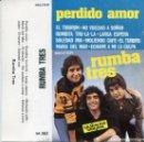 Casetes antiguos: RUMBA TRES / PERDIDO AMOR (CASETE BELTER 1978). Lote 164177802