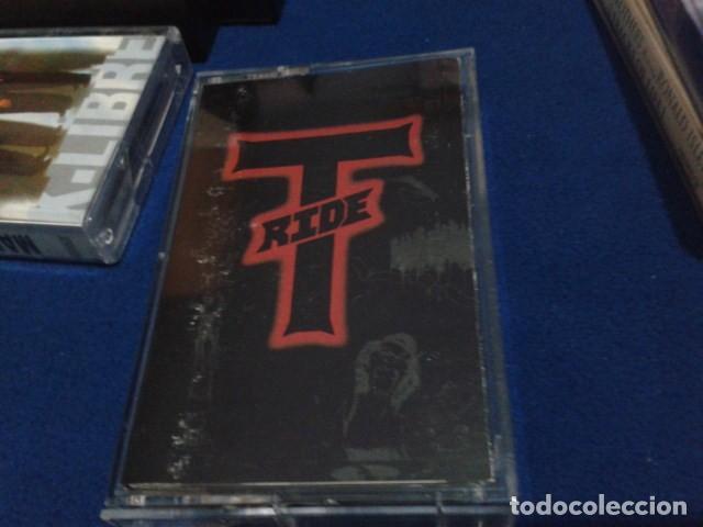 CASETE CINTA CASSETTE ROCK ( T - RIDE ) 1992 HOLLYWOOD RECORDS ENGLAND HARD ROCK, HEAVY METAL (Música - Casetes)