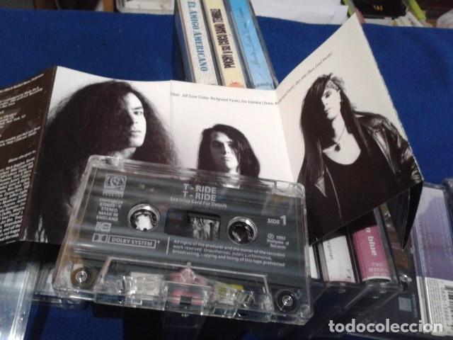 Casetes antiguos: CASETE CINTA CASSETTE ROCK ( T - RIDE ) 1992 HOLLYWOOD RECORDS ENGLAND Hard Rock, Heavy Metal - Foto 2 - 164184922