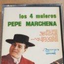 Casetes antiguos: PEPE MARCHENA / LOS 4 MULEROS / MC - OLYMPO / PRECINTADO.. Lote 164623782