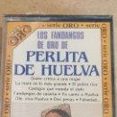 Casetes antiguos: PERLITA DE HUELVA / LOS FANDANGOS DE ORO / MC - BELTER-SERIE ORO / PRECINTADO.. Lote 164644810