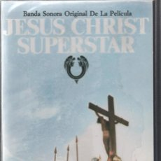 Casetes antiguos: JESUS CHRIST SUPERSTAR. BANDA SONORA. MCA RECORDS.. Lote 164805130