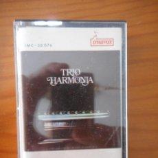 Casetes antiguos: TRÍO HARMONÍA. SELLO UNAVOX. CASETE -CASSETTE-. PORTUGAL. CON DEDICATORIA. BUEN ESTADO. DIFÍCIL. Lote 164855794