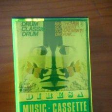 Casetes antiguos: NIPPON CROWN. DRUM CLASSIC DRUM. SELLO DIRESA. 1973. CASETE -CASSETTE-. BUEN ESTADO. Lote 164856330