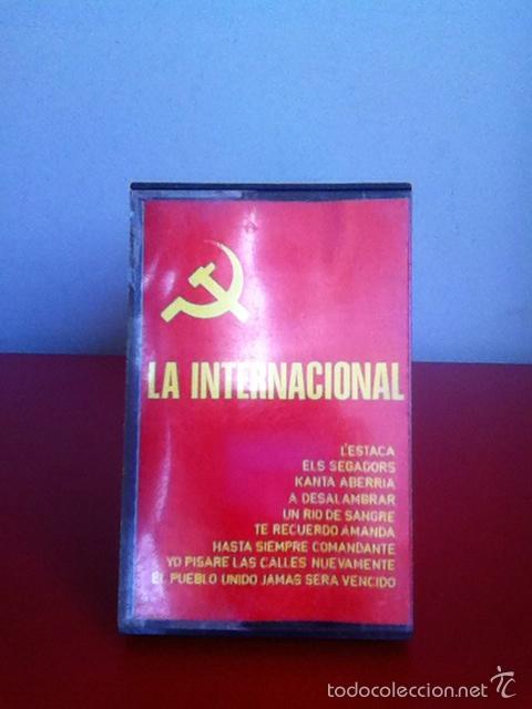 CASETE. LA INTERNACIONAL. 1977 (Música - Casetes)