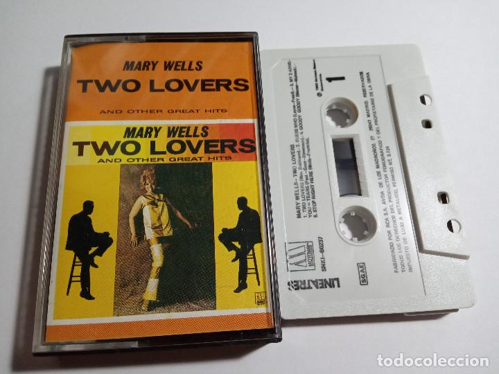 MARY WELLS.TWO LOVERS AND OTHER GREAT HITS.1985.MOTOWN.ESPAÑA.(Música - Casetes)