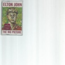 Casetes antiguos: CASETE ELTON JHON THE BIG PICTURE PRECINTADA. Lote 166306566