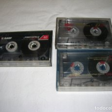 Cassette antiche: CASETES USADOS PARA GRABAR DE 60 MINUTOS. Lote 166450434