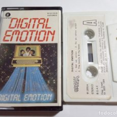 Casetes antiguos: DIGITAL EMOTION.DIGITAL EMOTION.1984.BREAK / FONOMUSIC.ESPAÑA.. Lote 166649302