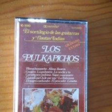 Casetes antiguos: LOS PULKAPICHOS. EL SORTILEGIO DE LAS GUITARRAS Y FLAUTAS INDIAS. DOBLÓN. 1981. CASETE -CASSETTE-.. Lote 167458256