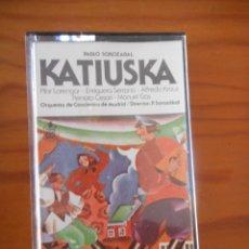 Casetes antiguos: ZARZUELA. KATIUSKA. PABLO SOROZÁBAL. SELLO HISPAVOX. 1978. CASETE -CASSETTE-.. Lote 167542488