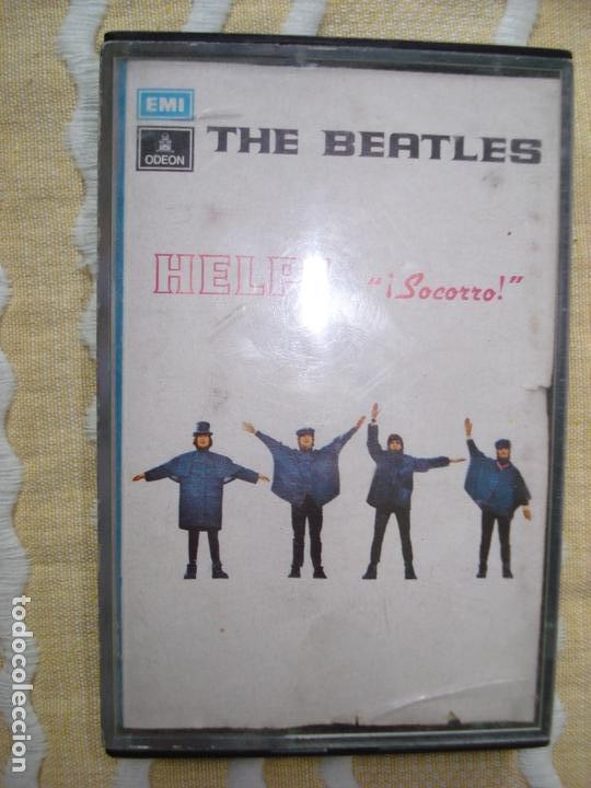 CASETE, THE BEATLES HELP (Música - Casetes)