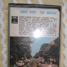 Casetes antiguos: CASETE , THE BEATLES, ABBEY ROAD. Lote 167570872