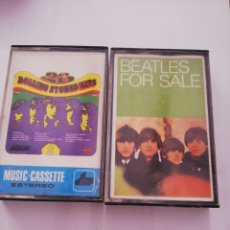 Casetes antiguos: ROLLING STONES HITS Y BEATLES FOR SALE C1. Lote 167589772