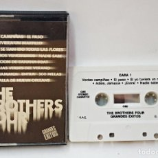 Casetes antiguos: CINTA DE CASETE DE THE BROTHERS FOUR.GRANDES EXITOS.1984 CBS. Lote 167746180