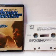 Casetes antiguos: CINTA DE CASETE DE THE BEST OF MICHAEL JACKSON. RCA MOTOWN 1984. Lote 167785024