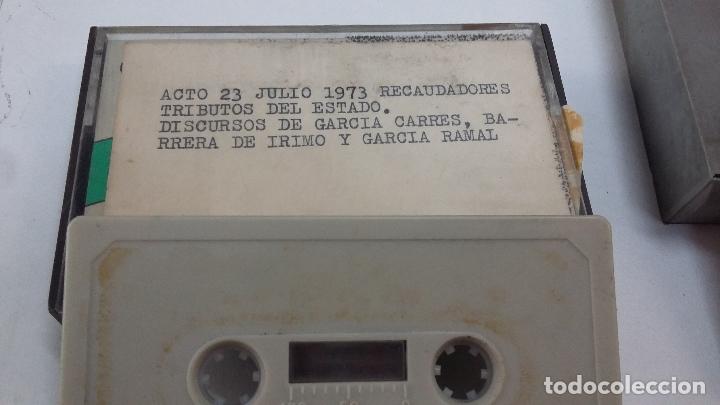 2 CINTAS DE CASSETTE ACTO 23 DE JULIO DE 1973 (RECAUDADORES TRIBUTOS DEL ESTADO) Y CORDOBA 1972 (Música - Casetes)