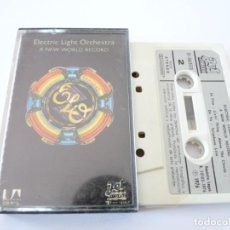 Cassetes antigas: CASETE, CASSETTE ELECTRIC LIGHT ORCHESTRA A NEW WORLD RECORD REF: 10-15. Lote 168003052