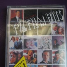 Casetes antiguos: TV & FILMS HITS DOBLE CASETE 1991 - TWIN PEAKS - EL PADRINO - DINASTIA - DALLAS - TELEVISION CINE . Lote 168029404