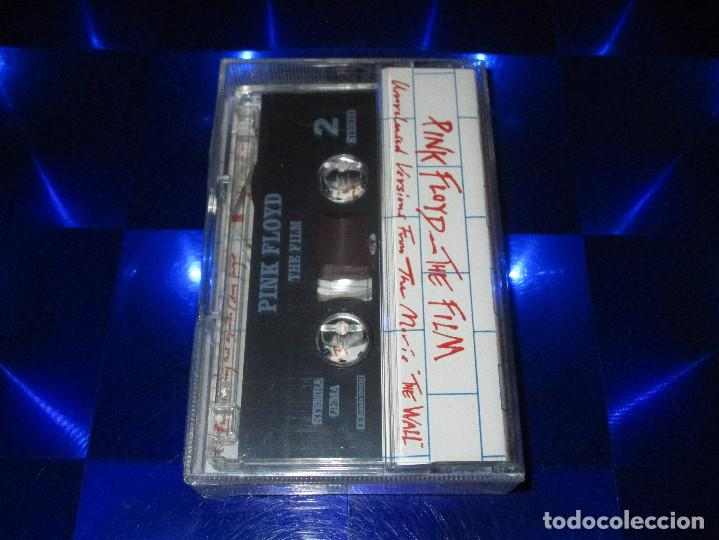 Casetes antiguos: PINK FLOYD ( THE FILM / UNRELEASED VERSIONS FROM THE MOVIE THE WALL ) - CASSETTE - PRECINTADA - Foto 2 - 168102472