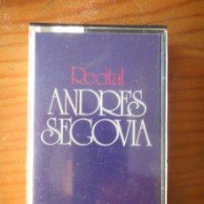 Casetes antiguos: ANDRÉS SEGOVIA. RECITAL ANDRÉS SEGOVIA. SELLO MCA. 1972. CASETE -CASSETTE-. BUEN ESTADO. Lote 168286552