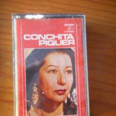 Casetes antiguos: CONCHITA PIQUER. SERIE VARIEDADES. CON MAESTRO CISNEROS. SELLO COLUMBIA. 1972. CASETE -CASSETTE-.. Lote 168297272