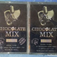 Casetes antiguos: CHOCOLATE MIX VOLS 1 Y 2 PRODISC/DIVUCSA 1996 ELECTRONIC PRECINTADAS!!. Lote 169013108